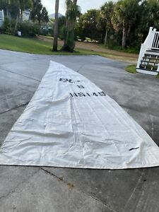 """Rolly Tasker Sailboat Sail 28'x100"""" Craft Tents, Backpack, Clothes, Bags NR"""