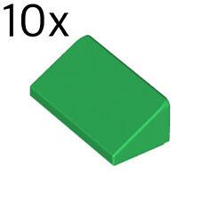 Roof Brick 1x2 2//3-4548180 Brique Toit Lot x10 Lego noir black 85984