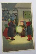 """""""Weihnachten, Kinder, Laterne"""" 1913 ♥ (26515)"""