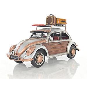 Volkswagen Vw Beetle Bug Metal Escala De Coche Juguete
