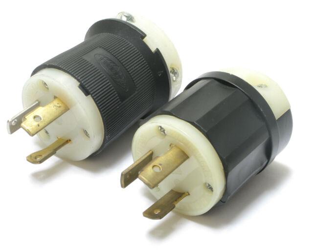 Leviton 4720-C Male Plug Nema L5-15, 15A, 125V
