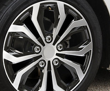Unitec Daytona Wheel Trims Black Silver Number Set of 4 Car Vehicles 16 Inch New