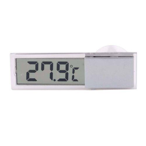 Auto LKW LCD Digital Temperaturfuehler in- // Aussenthermometer Saugnapf J4L4 2X