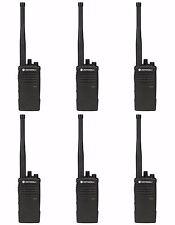 6 Motorola RDX RDV5100 VHF two-way radios. Free radio + prepaid card!