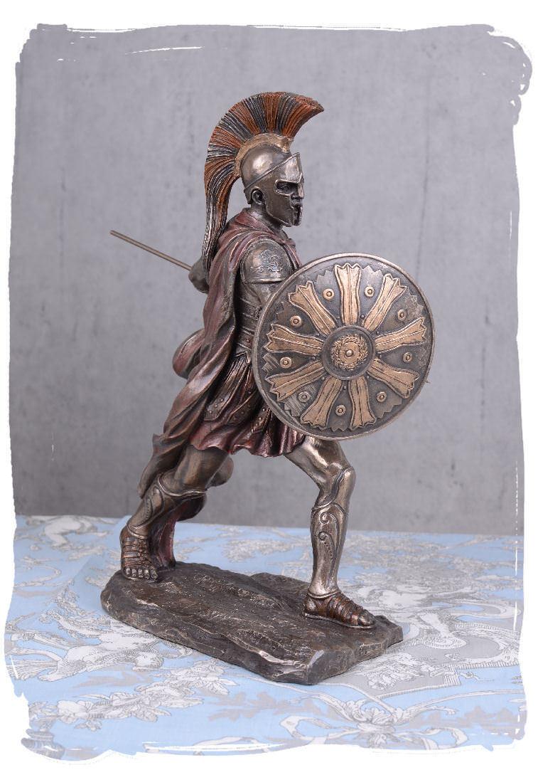 Figura De Aquiles héroe antiguo Mitología Escultura