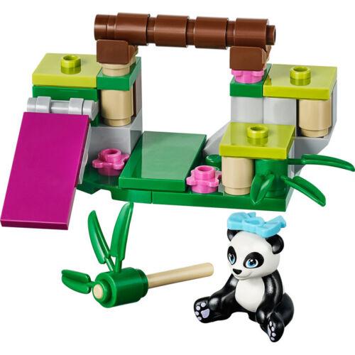 LEGO-41049-FRIENDS-LE-BAMBOU-DU-PANDA-COMPLET-NOTICE