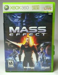 XBOX 360 MASS EFFECT 2007 Pre-Owned Video Game Microsoft XBOX 360