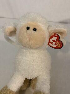 TY Lamb BAAABSY BAAAG Lamb Purse Beanie Baby Mint with Tags 2006