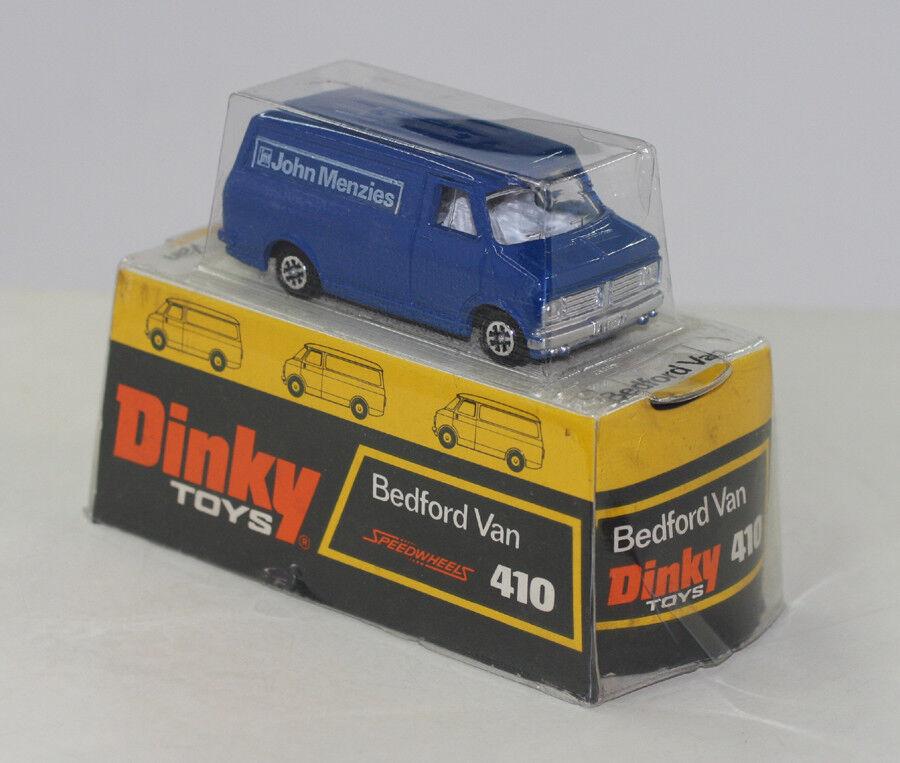 DINKY TOYS 410 BEDFORD VAN PROMOTIONAL PROMOTIONAL PROMOTIONAL JOHN MENZIES 1974-75  MIB a74b42