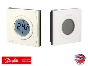 danfoss link rs raumsensor raumf hler raumthermostat funkthermostat 014g0158 ebay. Black Bedroom Furniture Sets. Home Design Ideas