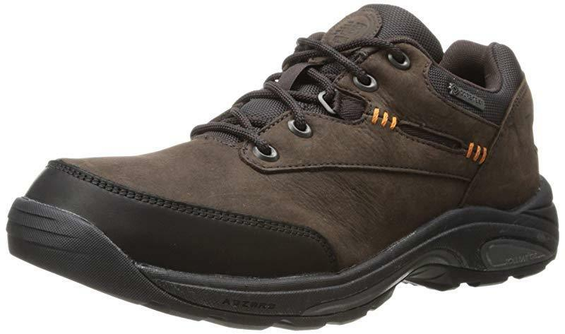 New Balance Men's W1069 Hiking shoes, Brown, 7.5 2E US