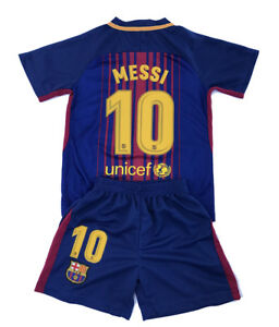 pretty nice 63ad7 e4ccd Details about Messi Jersey Home 2017 2018 Youth / Kids sizes - Free  Shipping fr California USA