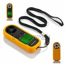 Digital Handheld Anemometer Speed meter thermomoter Wind Sailing Surfing CE More