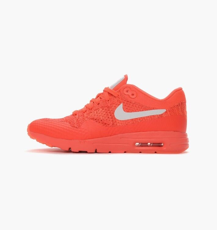 Nike Air Max 1 Ultra Flyknit Women Running Trainers 843387 601 Sneakers 8.5