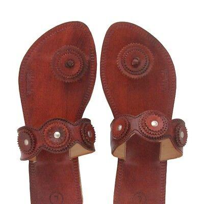 New Fifeet Paduka Leather Button-toe
