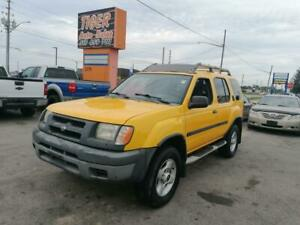 2001 Nissan Xterra SE*ONLY 148KMS*VERY CLEAN*YELLOW*CERTIFIED