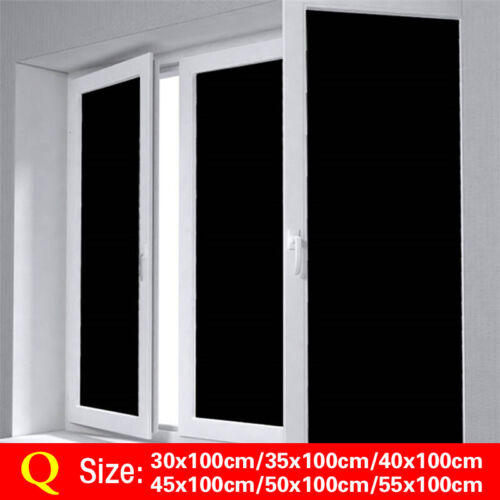 Privacy Window Glass Film Sticker PVC Static Cling Frosted Stained Bathroom Home