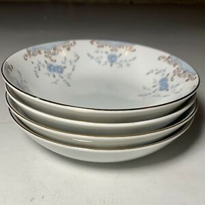 *Lot of 8* Coupe Soup Cereal bowls Imperial China 5303  Seville  By W. Dalton