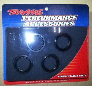 TRA7767 Traxxas 7767 X-Maxx GTX Shock Blue Aluminum Spring Adjusters 4