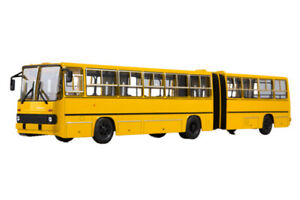 SOVA-900223-1-43-IKARUS-280-MOSCOW-USSR-RUSSIAN-BUS-1980-YELLOW-280