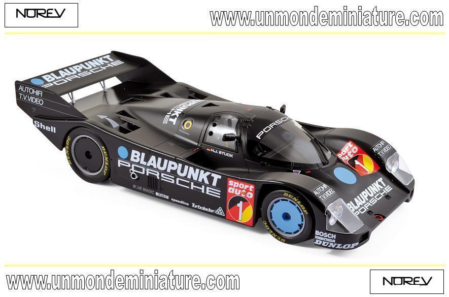 Porsche 962C Winner ADAC Eiffelrennen Nürburgring 1986 NOREV 187411 1 18