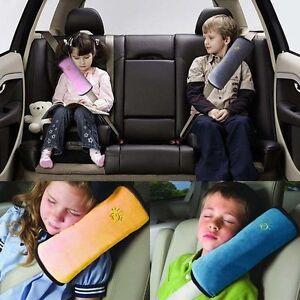 Car Belt Shoulder Comfort Pillow Soft For Child Sleep Cushion
