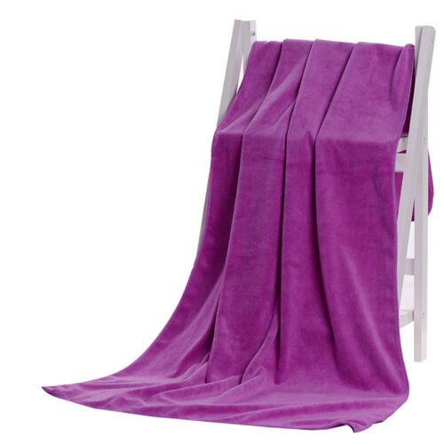 Microfiber Absorbent Drying Bath Washcloth Beach SPA Beauty Salon Bath Towels