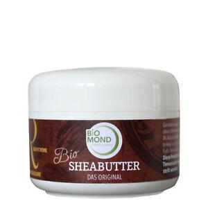 Bio Sheabutter *r* Hautcreme Babycreme Ringelblume Unraffiniert Biomond 150 G Rheuma Lindern Körperpflege