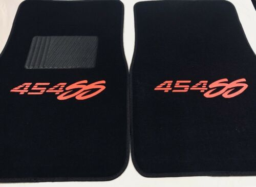 454 SS Floor mats Chevy 454 SS 2pc heat pressed Logo Floor mats #454SSO-B