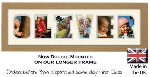 Oliver Photo Frame Name Photo Frame Photos in a Word 1293-CC
