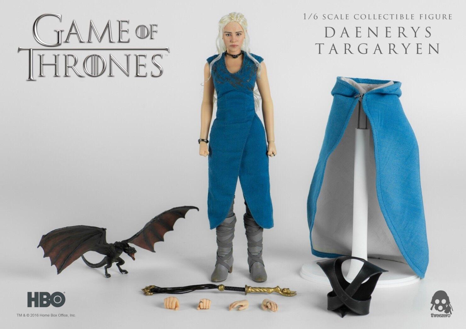 Game Of Thrones  Daenerys Targaryen 1 6 Figura de Acción 12″ Threezero