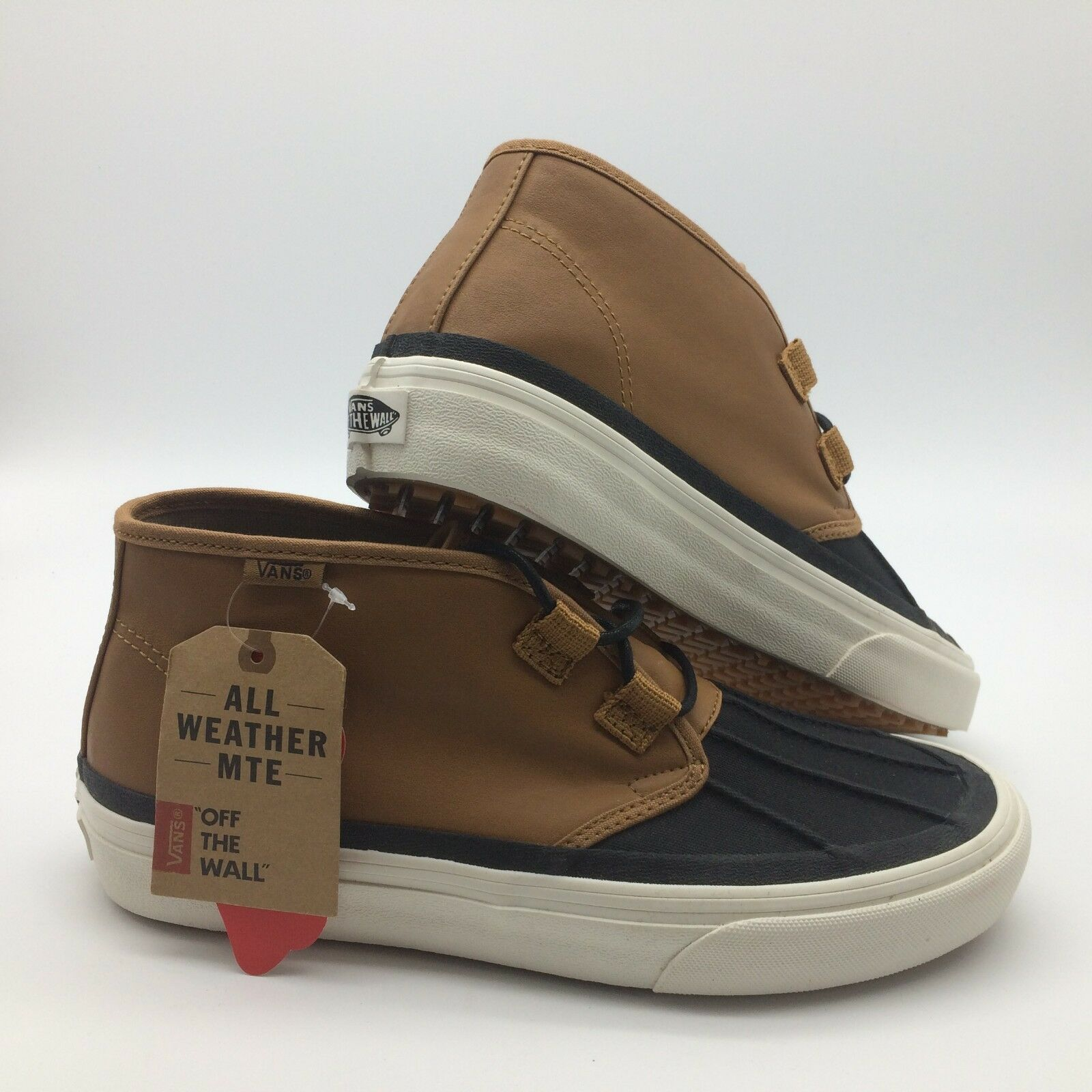 Vans Men's shoes  Prairie Chukka MT  Tan Black