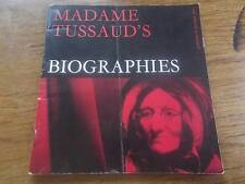 Vintage 1967 Book MADAME TUSSAUDS BIOGRAPHIES Art Exhibition Waxworks Real Photo
