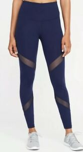 e94cdac52e NEW Old Navy High-Rise Mesh-Panel Elevate Compression Leggings Blue ...