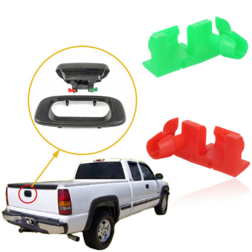 Tailgate Handle Rod Clips LH RH For Chevy Silverado GMC Sierra 88981031//88981030