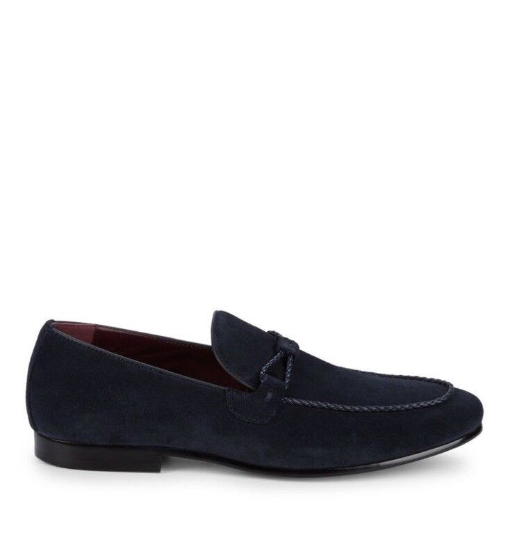 Mens suede loafers size 10