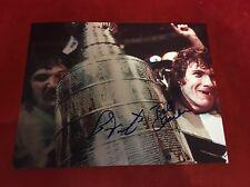 "BERNIE PARENT & Bobby Clarke Hand SIGNED PHILADELPHIA FLYERS 8x10"" PHOTOgraph"