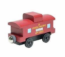 Wooden Train Union Pacific 2003 Caboose Compatible with all Railroads Mint