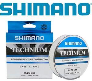 Monofilament-Shimano-Technium-Fishing-line-TEC200-Different-Diameters-200-m