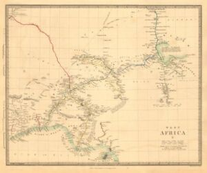 West Africa Ii Nigeria Bight Of Benin Lake Chad Yariba Houssa