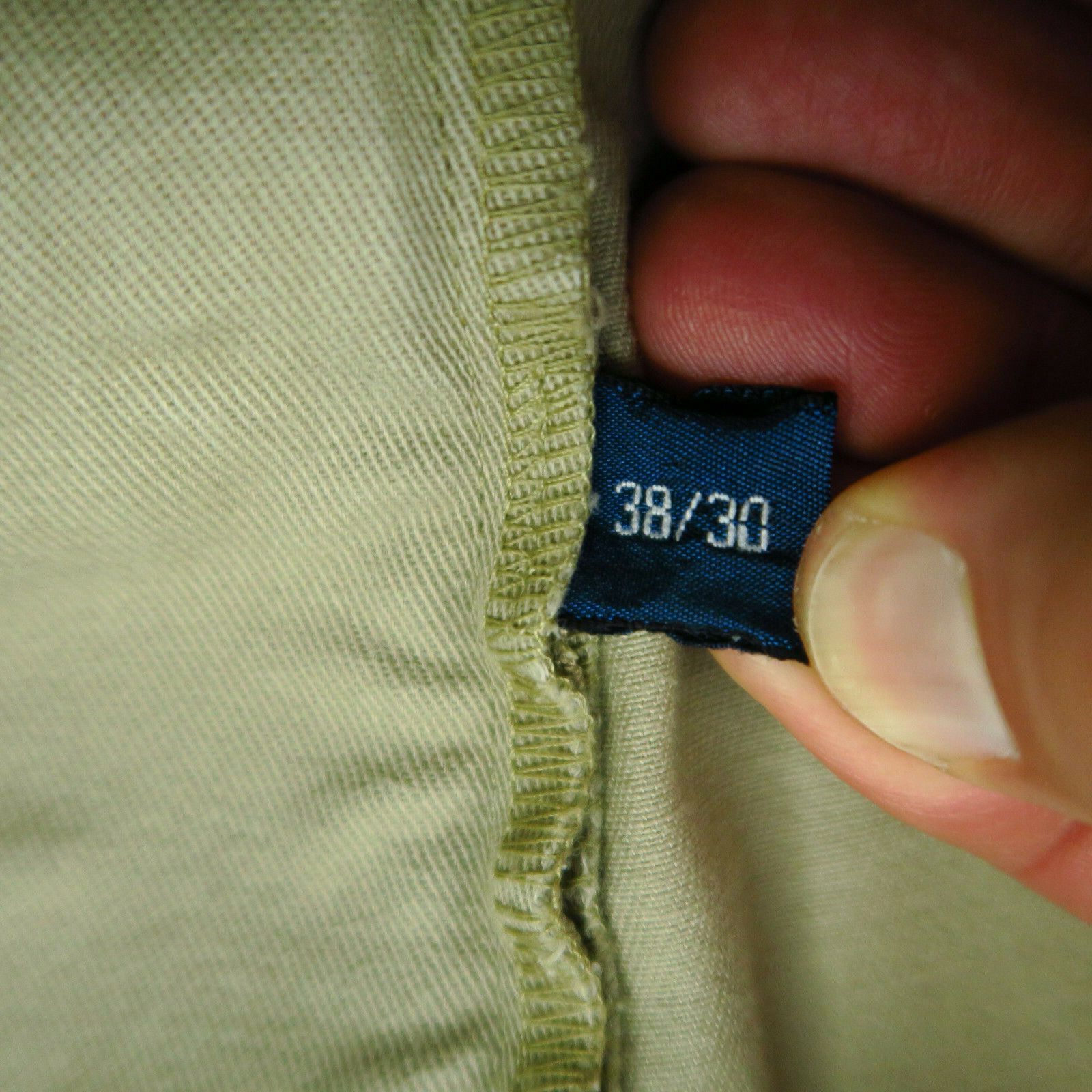VTG Polo Chino Ralph Lauren Mens Khaki Tan Pants … - image 11