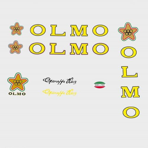 Decals Transfers n.105 Olmo Bicycle Frame Stickers