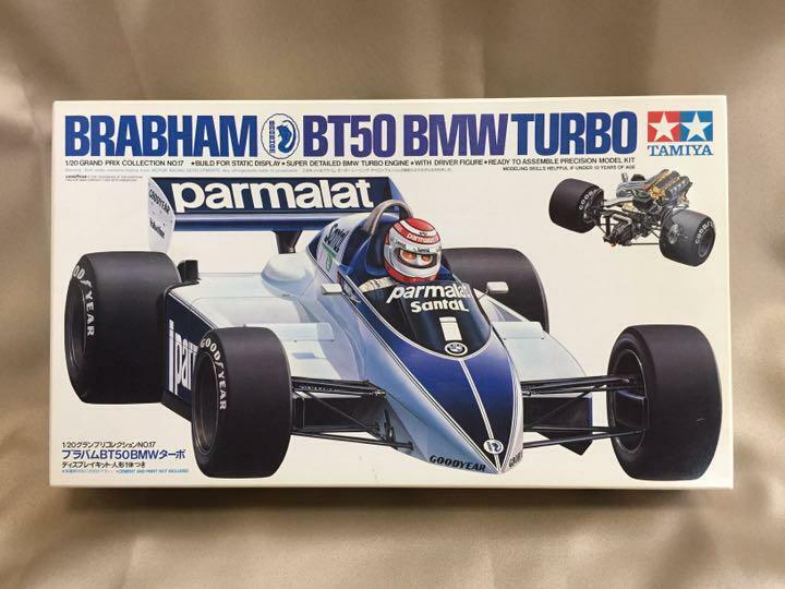 Tameya brabham brabham brabham bt50 BMW turbina 1   20, serie de premios Prix 17 y 35repas 11405 142