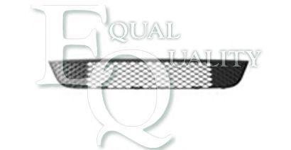 G1065 EQUAL QUALITY Griglia di ventilazione Paraurti anteriore nero centrale FO