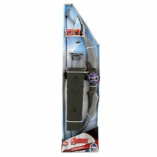 Marvel Avengers Hawkeye Deluxe Quiver w collapsible Bow & Arrow Set