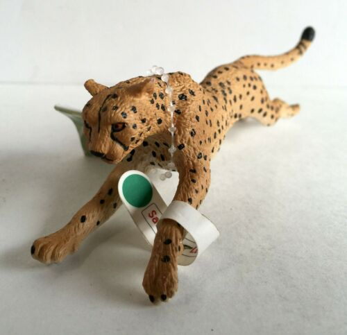 Safari Ltd Wild Safari Cheetah Running figurine neuf avec étiquettes #290429