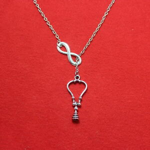 Antique Stethoscope Necklace Lariat Style. RN, Doctor EMT Gift.