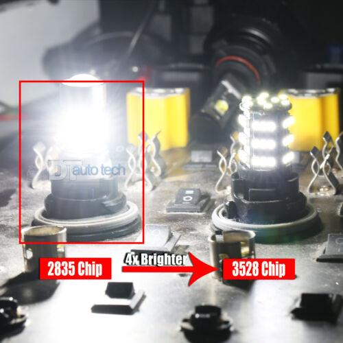 2X 990 Lumens 1156 50W High Power Chip LED White Reverse Back Up Lights Bulbs