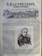 L'ILLUSTRATION 1847 N 248 GUILLAUME.H. DUFOUR,Cdt  DES TROUPES FEDERALSE SUISSES