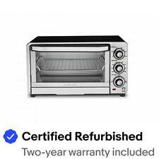 Cuisinart TOB-40NFR Custom Classic 1800 Watt Toaster Oven Broiler - Refurbished
